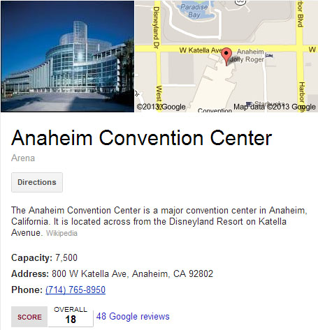 Anaheim Convention Center Transportation by RideFly.US